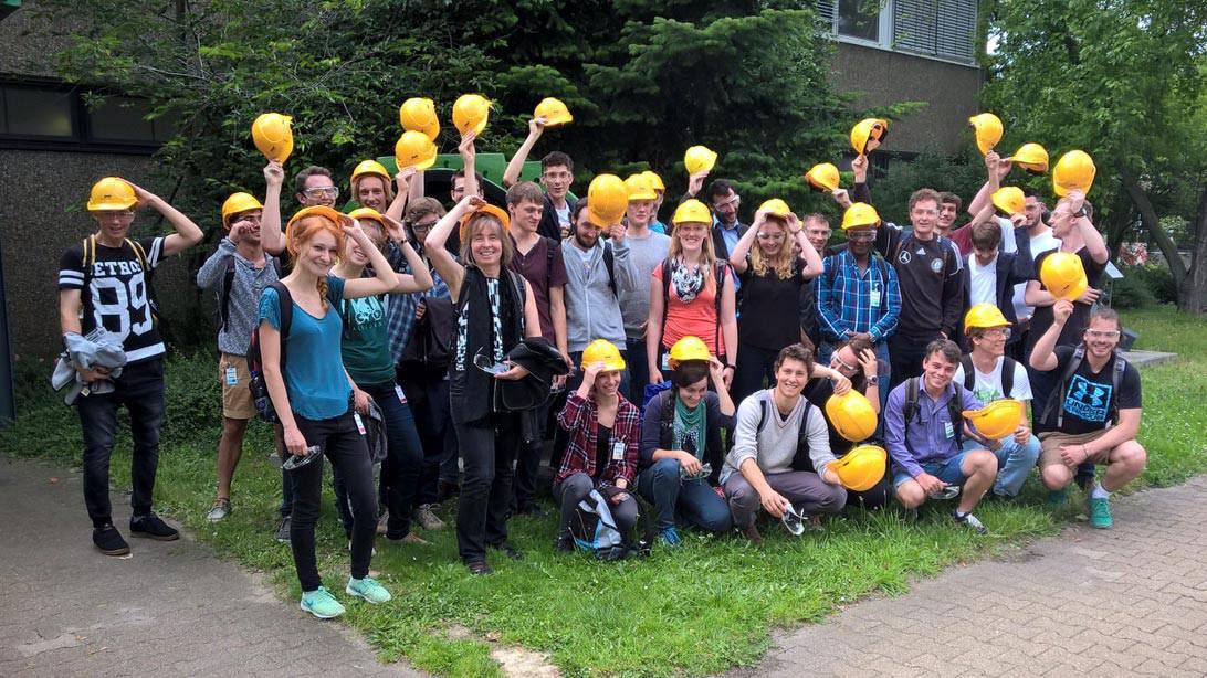 Gruppenbild Studierende der Hochschule Rottenburg