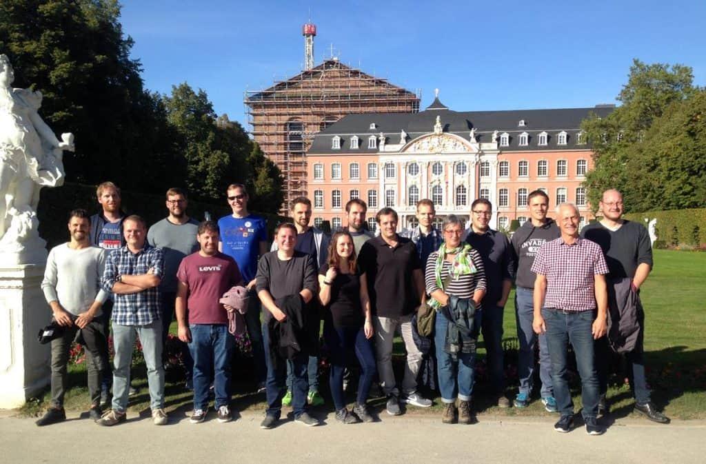 Studierende im Masterstudiengang Netztechnik & Netzbetrieb