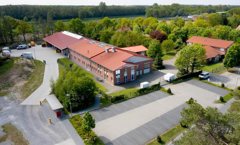 Luftbildaufnahme Firmensitz Esders GmbH