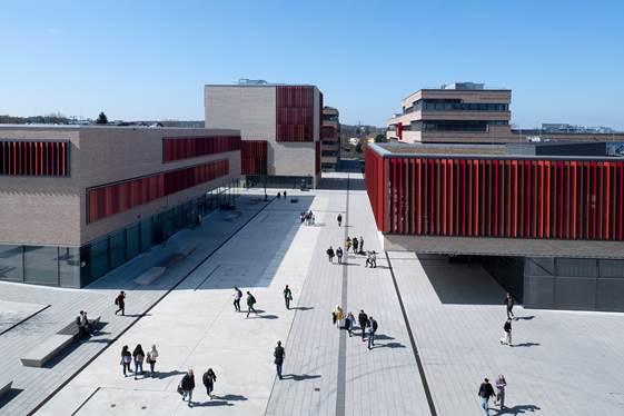 Campus der Hochschule Ruhr-West